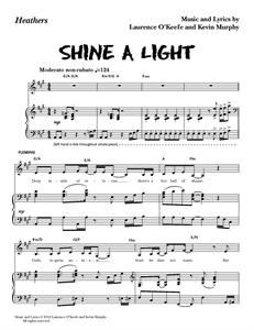 "Heathers The Musical - ""Shine A Light"" (Sheet Music)"