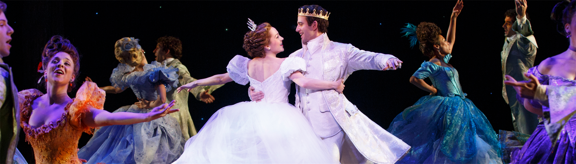 The Rodgers & Hammerstein Cinderella Collection Featured Promo Banner Image